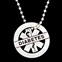 LIFETAG Pewter Motivational Medical ID Necklace - PEWTERNECK