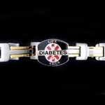LIFETAG Medical ID Two Tone Gents Bracelet LIFETAG, Medical, ID, Two, Tone, Gents, Bracelet