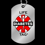 LIFETAG Etched Aluminum Dogtag Medical ID LIFETAG, Etched, Aluminum, Dogtag, Medical ID