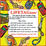 LIFETAG Medical ID Kids Pack