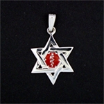 LIFETAG Star of David Medical ID Charm LIFETAG, Star of David, Medical ID, Charm