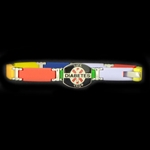 LIFETAG Medical ID Bright Multicolor Rectangular Link Bracelet  LIFETAG, Bright, Multicolor, Rectangular, Link, Bracelet , Medical ID